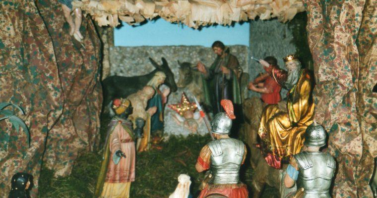 Inaugurazione Presepe di San Rocco